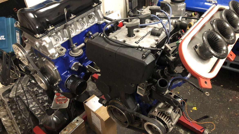 Lada 2112 16V szívó motor EVO2 (2019)