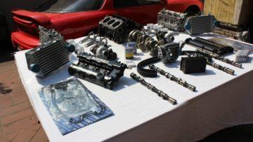 Megasquirt motorvezérlővel ellátott 3000GT (2011)