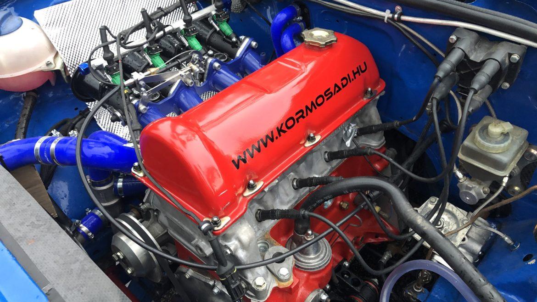 Lada nyolcszelepes rallye motor – Rallye3 (2020)
